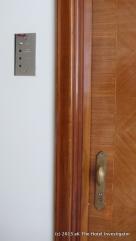 Guest room door