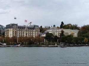 View from Lake Geneva
