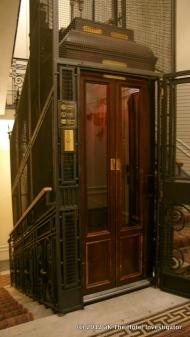 Antique elevator