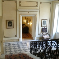 Main stair hall